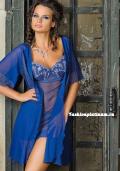 Купить синий прозрачный пеньюар, бельё от 499 руб./ цены, фото, отзывы в интернет магазине Fashionplatinum.ru